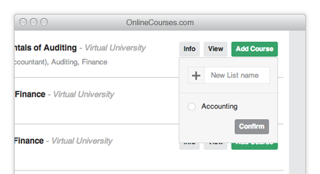 Online College Courses & Classes